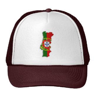 Portugal Flag Map Cap