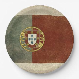 Portugal Flag Paper Plates