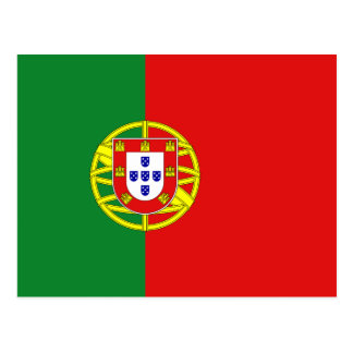 Portugal Flag Postcard