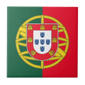 Portugal flag quality tile