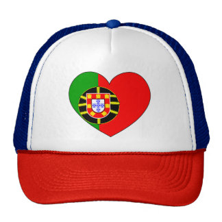 Portugal Flag Simple Cap