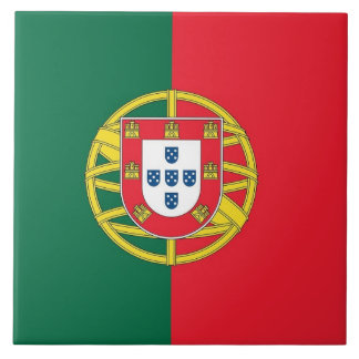 Portugal Flag Tile