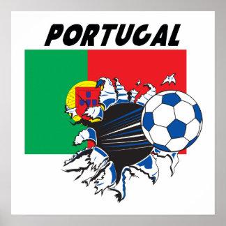 Portugal Futbol Soccer Poster