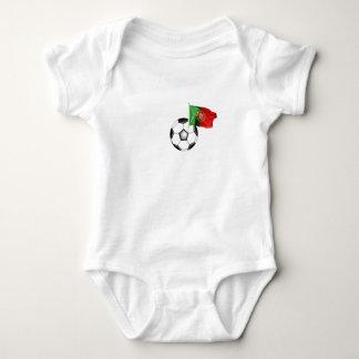 Portugal: Futebol / Soccer baby Baby Bodysuit