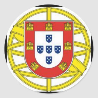 Portugal* Globe Sticker  Escudo Portugues Aesivo