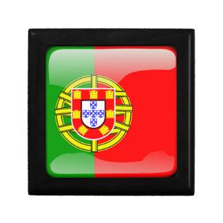 Portugal glossy flag gift box