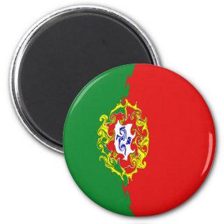 Portugal Gnarly Flag Refrigerator Magnet