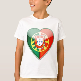 PORTUGAL_HEART_LOGO_FLAG T-Shirt