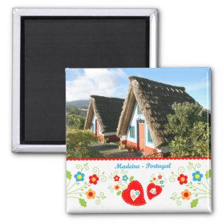 Portugal in photos - Madeira island Fridge Magnet