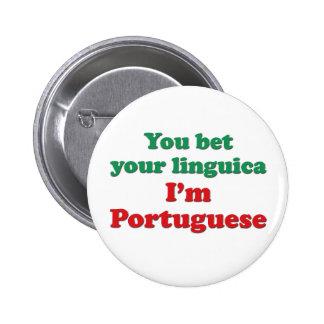 Portugal Linguica 2 6 Cm Round Badge