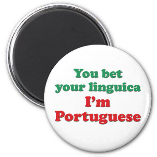 Portugal Linguica 2 6 Cm Round Magnet
