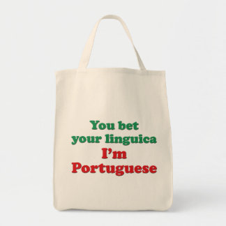 Portugal Linguica 2 Grocery Tote Bag