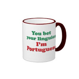 Portugal Linguica 2 Ringer Mug