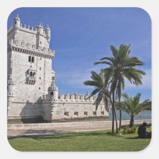 Portugal, Lisbon. Belem Tower, a UNESCO World 2 Stickers