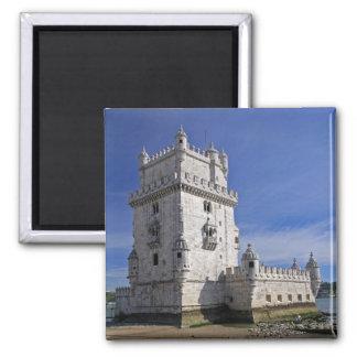 Portugal, Lisbon. Belem Tower, a UNESCO World Square Magnet