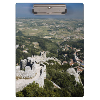Portugal, Lisbon Province, Sintra, View From Clipboard