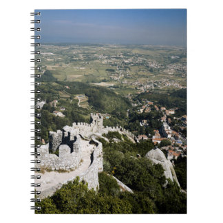 Portugal, Lisbon Province, Sintra, View From Notebooks