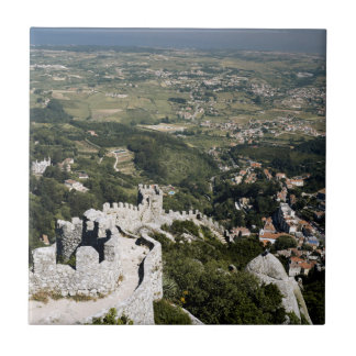 Portugal, Lisbon Province, Sintra, View From Tile