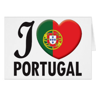Portugal Love Greeting Cards