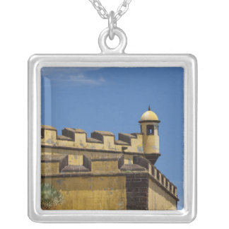 Portugal, Madeira Island, Funchal. Historic Silver Plated Necklace