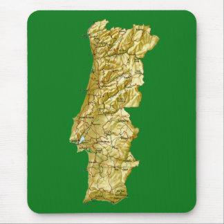 Portugal Map Mousepad