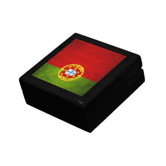 Portugal national flag gift box