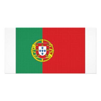 Portugal National Flag Photo Card