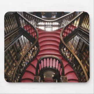Portugal, Oporto (Porto). Stairs in historic Mouse Pad
