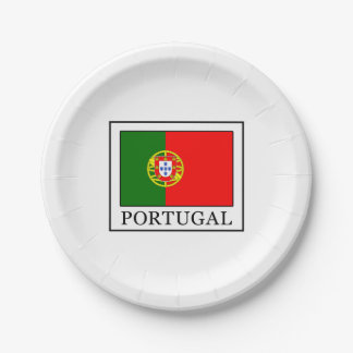 Portugal Paper Plate