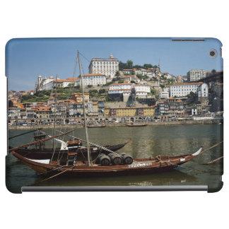 Portugal, Porto, Boat With Wine Barrels