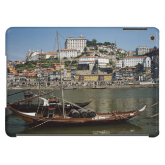 Portugal, Porto, Boat With Wine Barrels iPad Air Cases