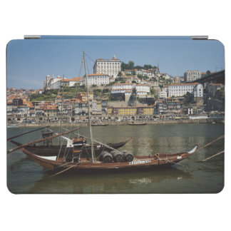 Portugal, Porto, Boat With Wine Barrels iPad Air Cover