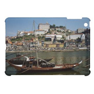 Portugal, Porto, Boat With Wine Barrels iPad Mini Case