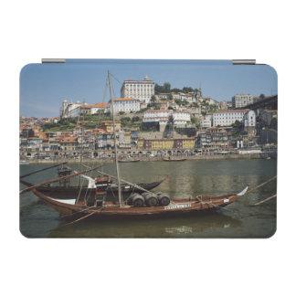 Portugal, Porto, Boat With Wine Barrels iPad Mini Cover