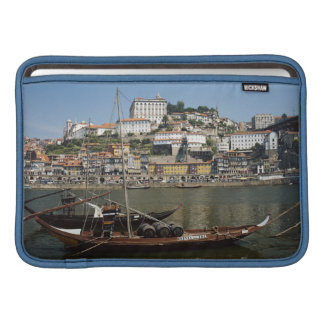 Portugal, Porto, Boat With Wine Barrels Sleeve For MacBook Air