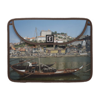 Portugal, Porto, Boat With Wine Barrels Sleeve For MacBook Pro