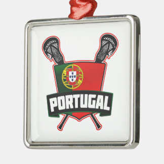 Portugal Português Lacrosse Christmas Ornament
