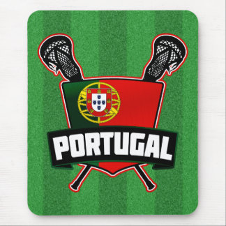 Portugal Português Lacrosse Mouse Pad