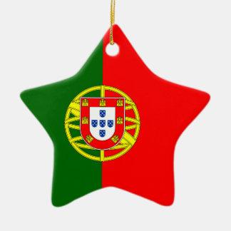 Portugal - Portuguese Flag Christmas Tree Ornament