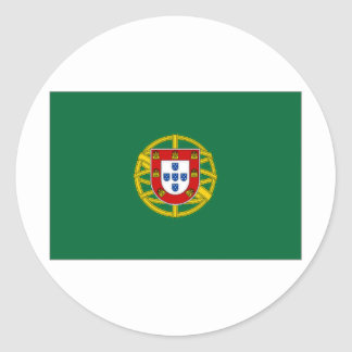 Portugal President Flag Classic Round Sticker