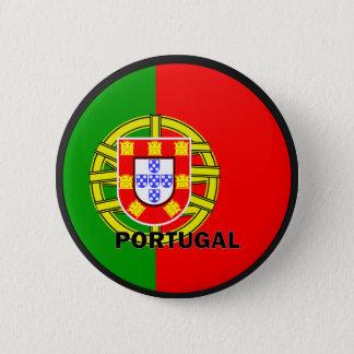 Portugal Roundel quality Flag 6 Cm Round Badge