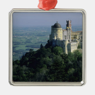 Portugal, Sintra, Pena Palace, atop Serra da Christmas Ornament