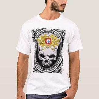 Portugal Skull Shield T-Shirt