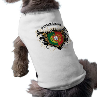 Portugal Sleeveless Dog Shirt