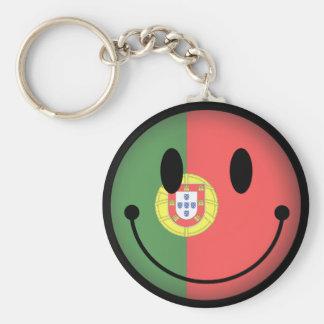 Portugal Smiley Key Ring