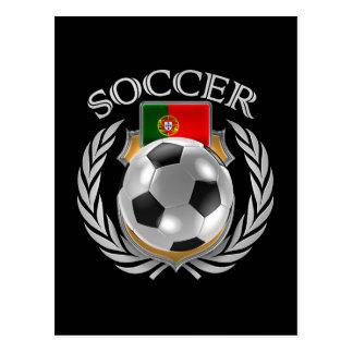 Portugal Soccer 2016 Fan Gear Postcard