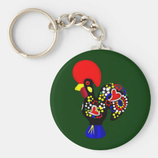 Portugal Soccer Basic Round Button Key Ring