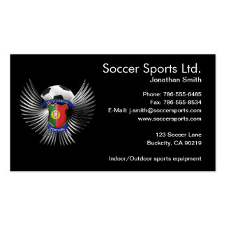 Portugal Soccer Champions Pack Of Standard Business Cards