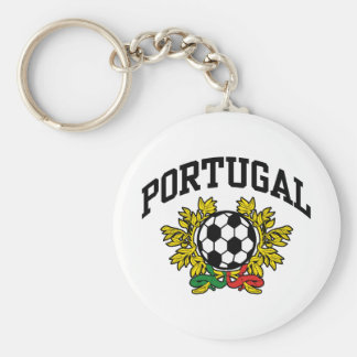 Portugal Soccer Key Ring