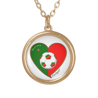 """PORTUGAL"" Soccer Team. Portuguese soccer 2014 Personalized Necklace"